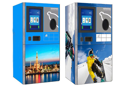 Aluminum Can Recycling Reverse Vending Machine